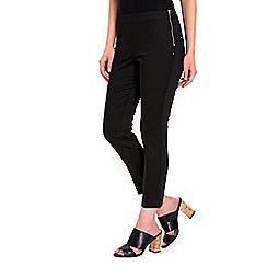 Wallis - Petite black capri trousers