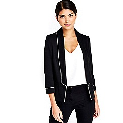 Wallis - Petite black tailored jacket