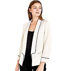 Wallis - Petite stone ponte jacket