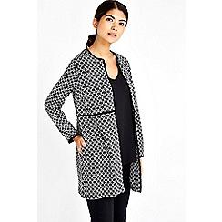 Wallis - Petite longline tweed jacket