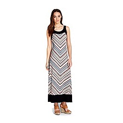 Wallis - Petite zig zag maxi dress
