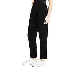 Wallis - Petite black jersey trouser