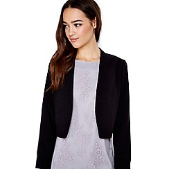 Wallis - Petite black crepe jacket
