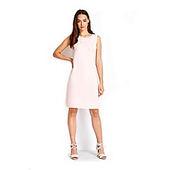 Wallis - Petite pale pink floral shift dress