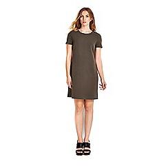 Wallis - Petite khaki 60's studded dress