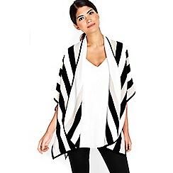 Wallis - Petite stripe wrap