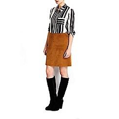 Wallis - Petite black longsleeve shirt