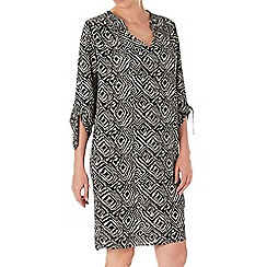 Wallis - Petite safari printed dress