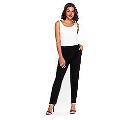 Wallis - Petite black smart trousers