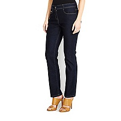 Wallis - Petite denim straight jean