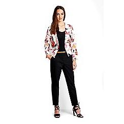 Wallis - Petite ivory floral jacket