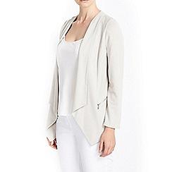Wallis - Petite stone drape jacket