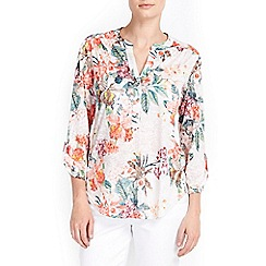 Wallis - Petite floral printed blouse