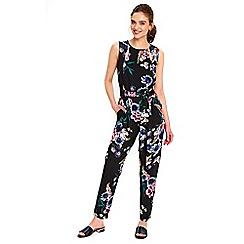 Wallis - Petite foxglove print jumpsuit