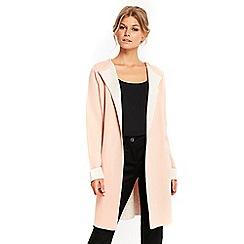Wallis - Petite pink coatigan