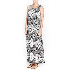Wallis - Petite tile print maxi dress