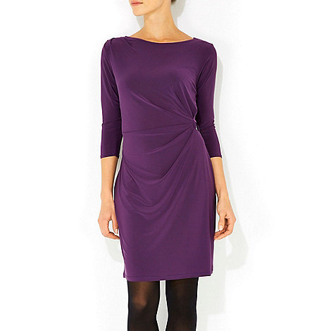Wallis - Purple bar side petite dress