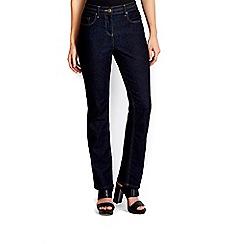 Wallis - Petite indigo straight jean