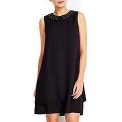 Wallis - Petite embellished shift dress