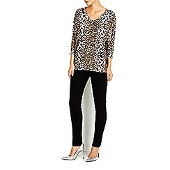 Wallis - Petite animal print jumper