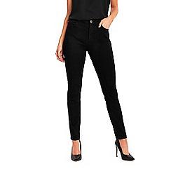 Wallis - Petite black ellie skinny jeans