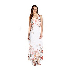 Wallis - Petite floral overlayer maxi dress
