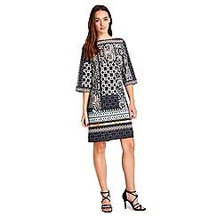 Wallis - Petite patchwork tunic dress