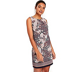 Wallis - Petite paisley shift dress