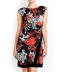 Wallis - Petite floral wrap dress