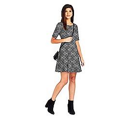 Wallis - Petite stone jacquard dress