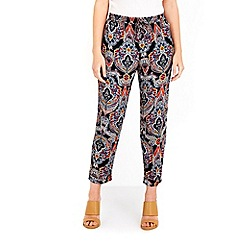 Wallis - Petite paisley printed trouser