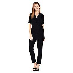 Wallis - Petite black jumpsuit