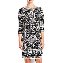 Wallis - Petite paisley printed tunic dress