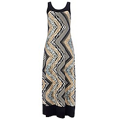 Wallis - Petite neutral maxi dress