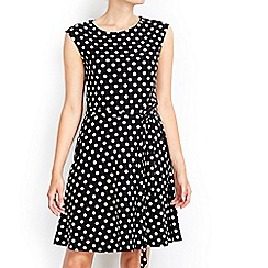 Wallis - Petite polka dot dress