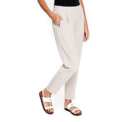Wallis - Petite silver pull on jogger trousers
