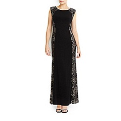 Wallis - Petite lace sequin maxi dress