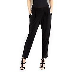 Wallis - Petite black tapered trouser