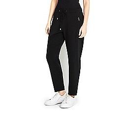 Wallis - Petite black jogger trouser