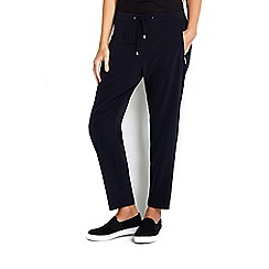 Wallis - Petite navy jogger trouser