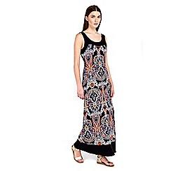 Wallis - Petite paisley maxi dress