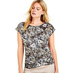 Wallis - Petite palm twist front top