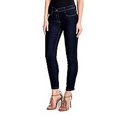 Wallis - Petite indigo skinny leg jean
