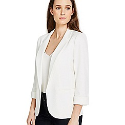 Wallis - Petite ivory jacket