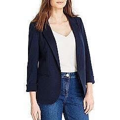 Wallis - Petite navy blazer