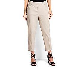 Wallis - Petite stone crop trouser