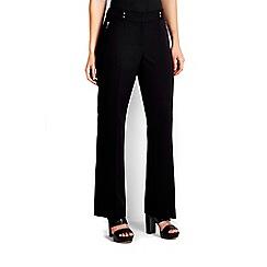 Wallis - Petite black bootcut trouser