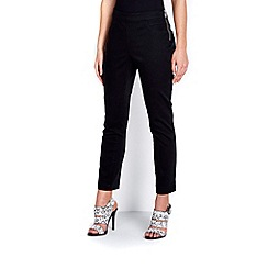 Wallis - Petite black stretch trouser