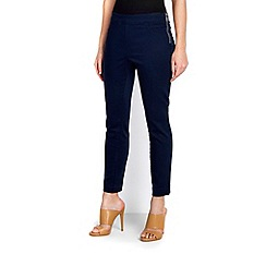 Wallis - Petite navy stretch trouser