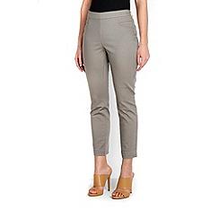 Wallis - Petite khaki stretch trouser
